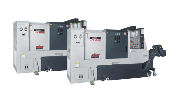 CAMPAT Machine Tool, Inc. introduces the Leadwell LTC-208 & LTC-210, additions to their time tested slant bed designed CNC turning center line-up. These models have a robust structural design that is stronger and beefier than others in its class and are ideal for heavy machining.