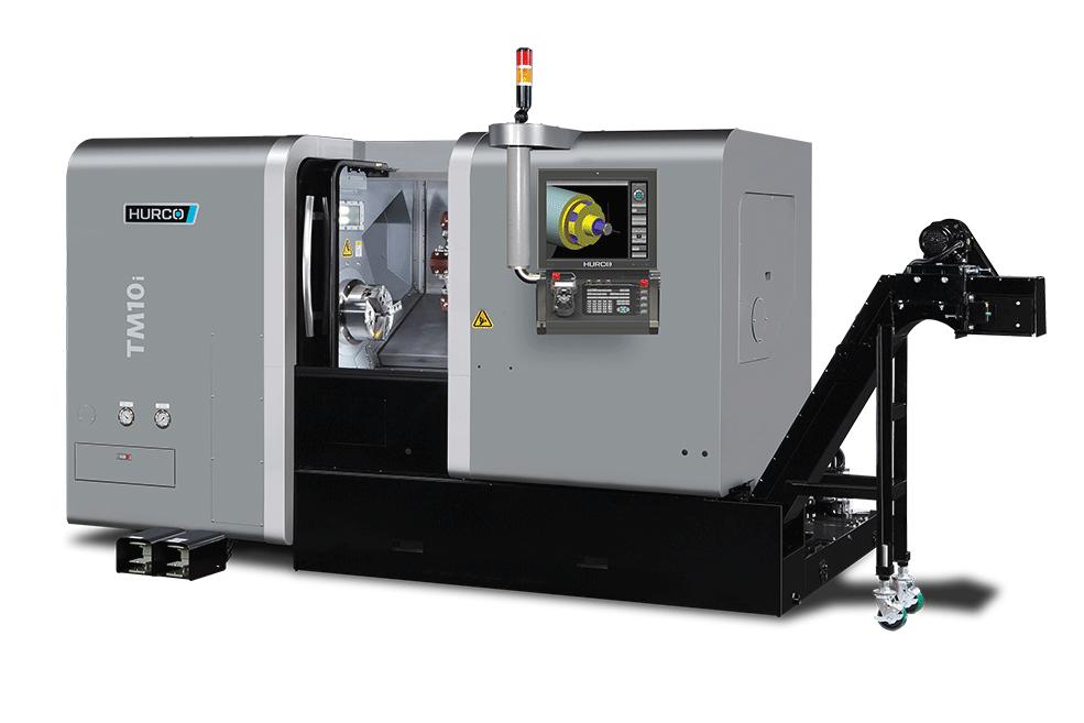 HURCO TM10i CNC Turning Center Two-Axis Lathe