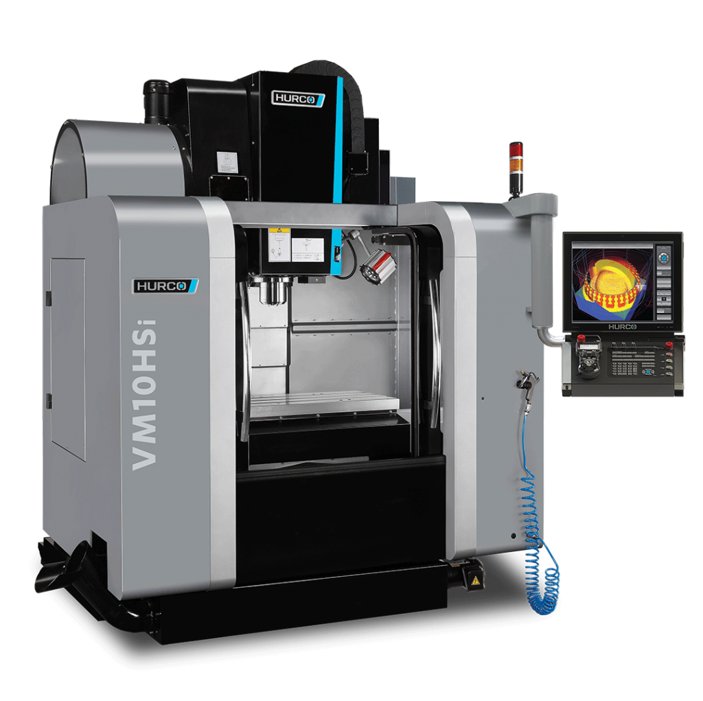 HURCO VM10HSi High-Speed Vertical Machining Center The Hurco VM CNC vertical milling machines offer powerful machining with a compact footprint, and absolutely the best value on the market.