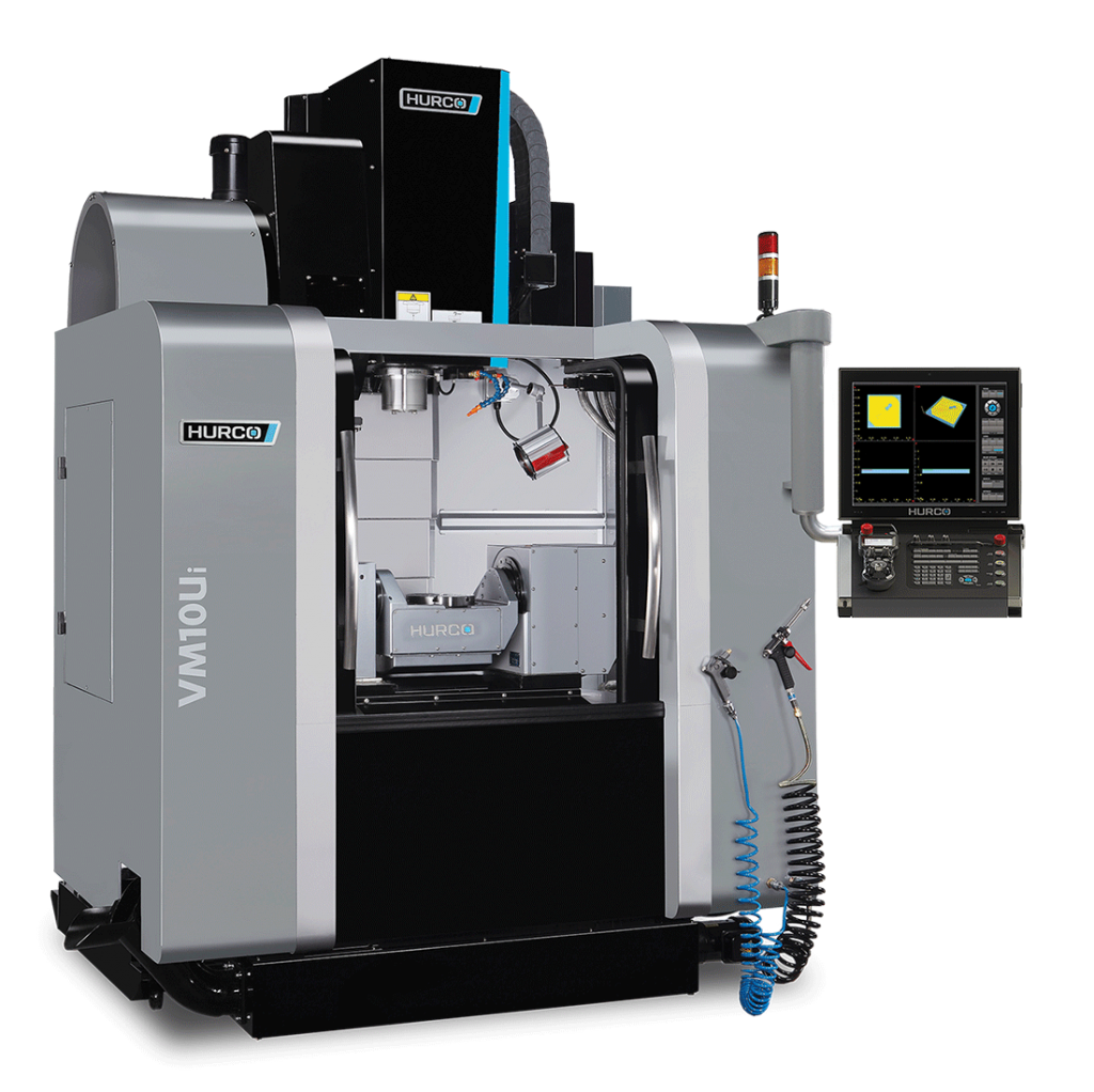 HURCO VM10Ui 5-Axis Trunnion Style Machine