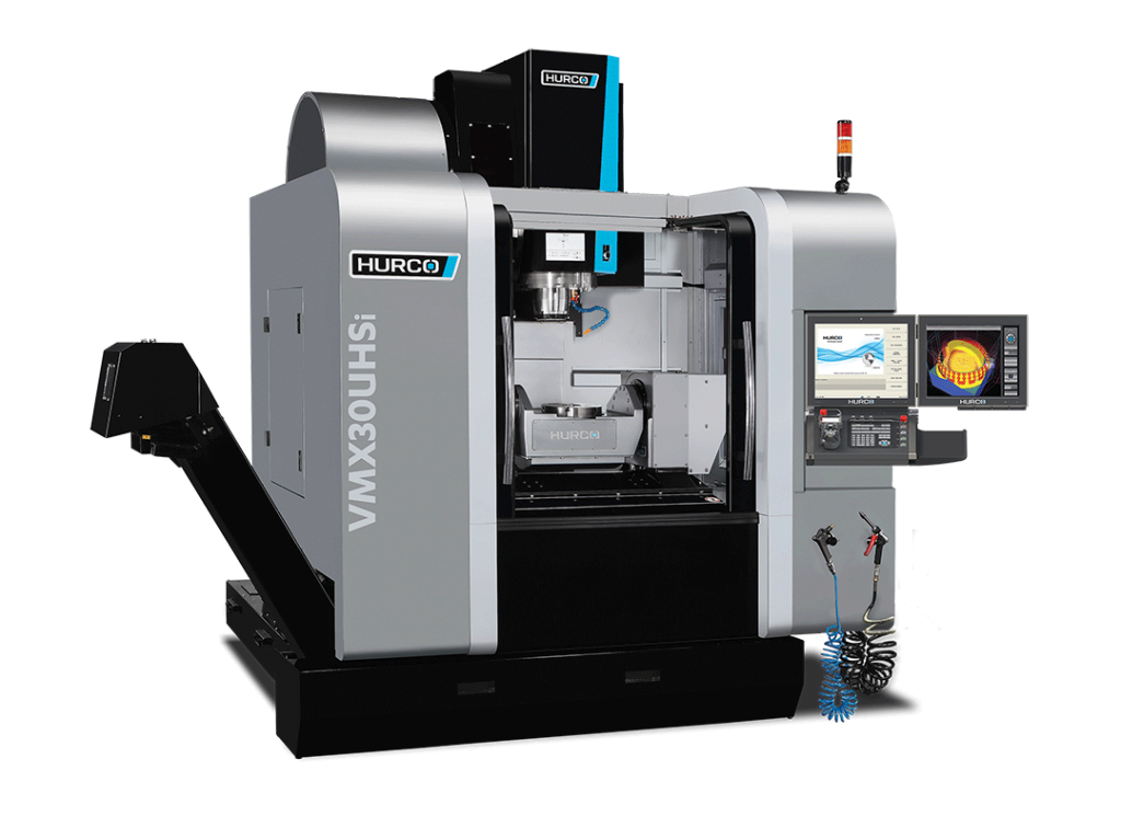 HURCO VMX30UHSi Five Axis High Speed 5-Axis High-Speed Trunnion Style Machine