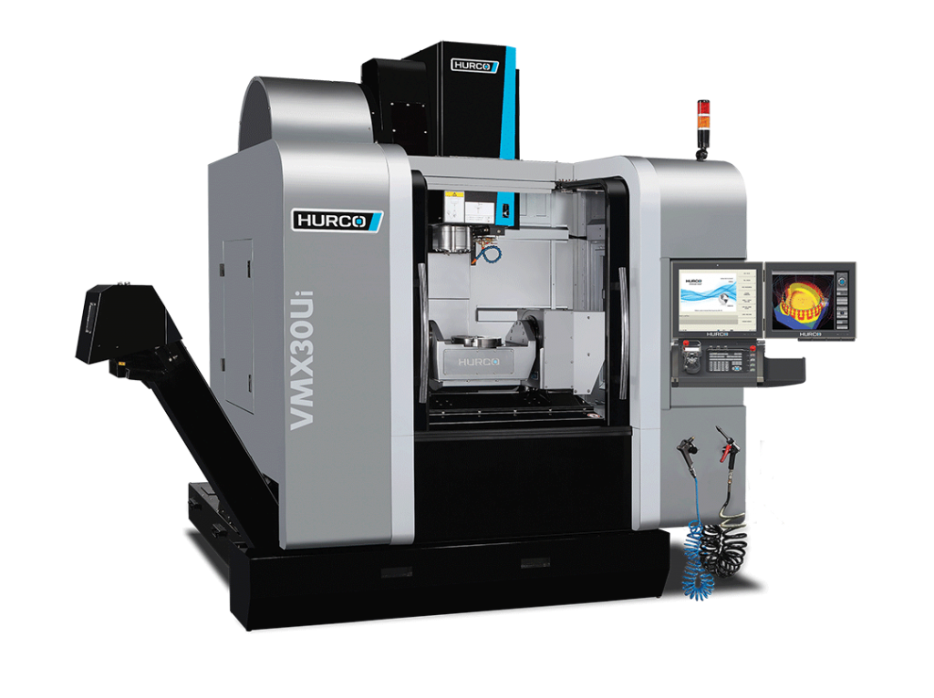 Hurco VMX30Ui 5-Axis trunnion style machining center