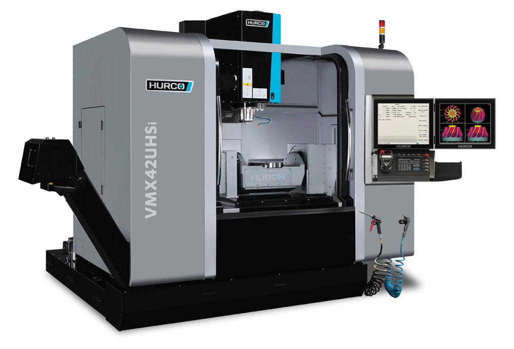 HURCO VMX42UHSi 5-Axis High-Speed Trunnion Style Machine