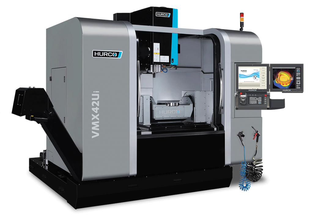 Hurco VMX42Ui 5-Axis trunnion style machining center