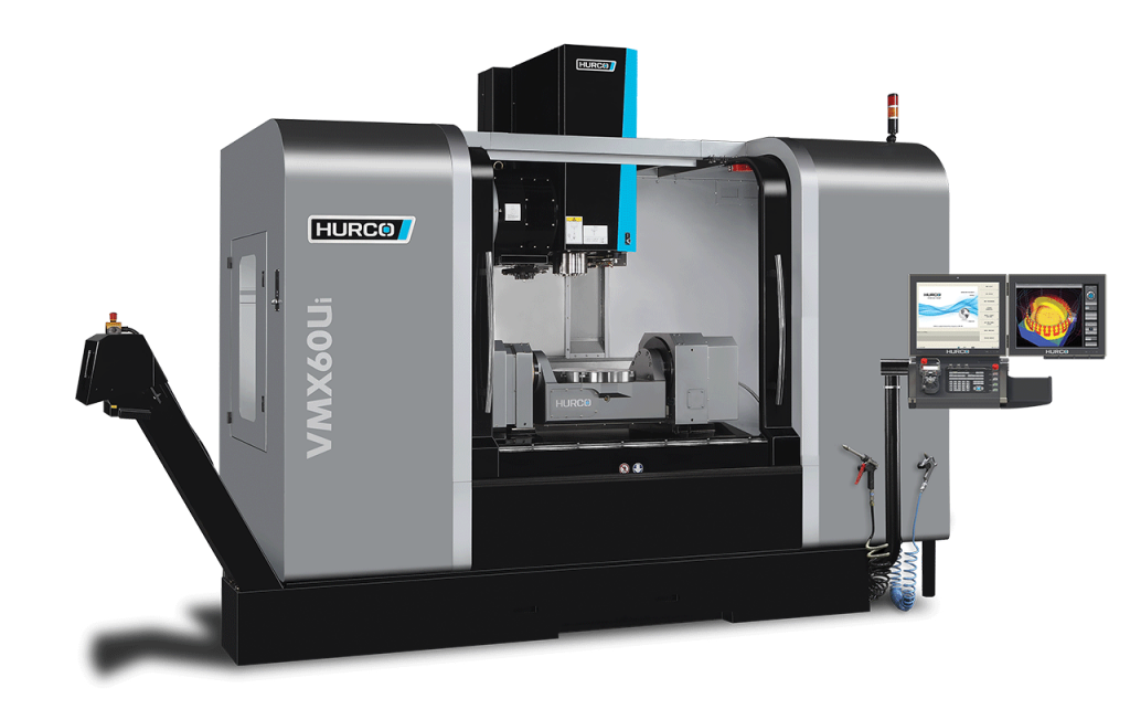 Hurco VMX60Ui 5-Axis trunnion style machining center